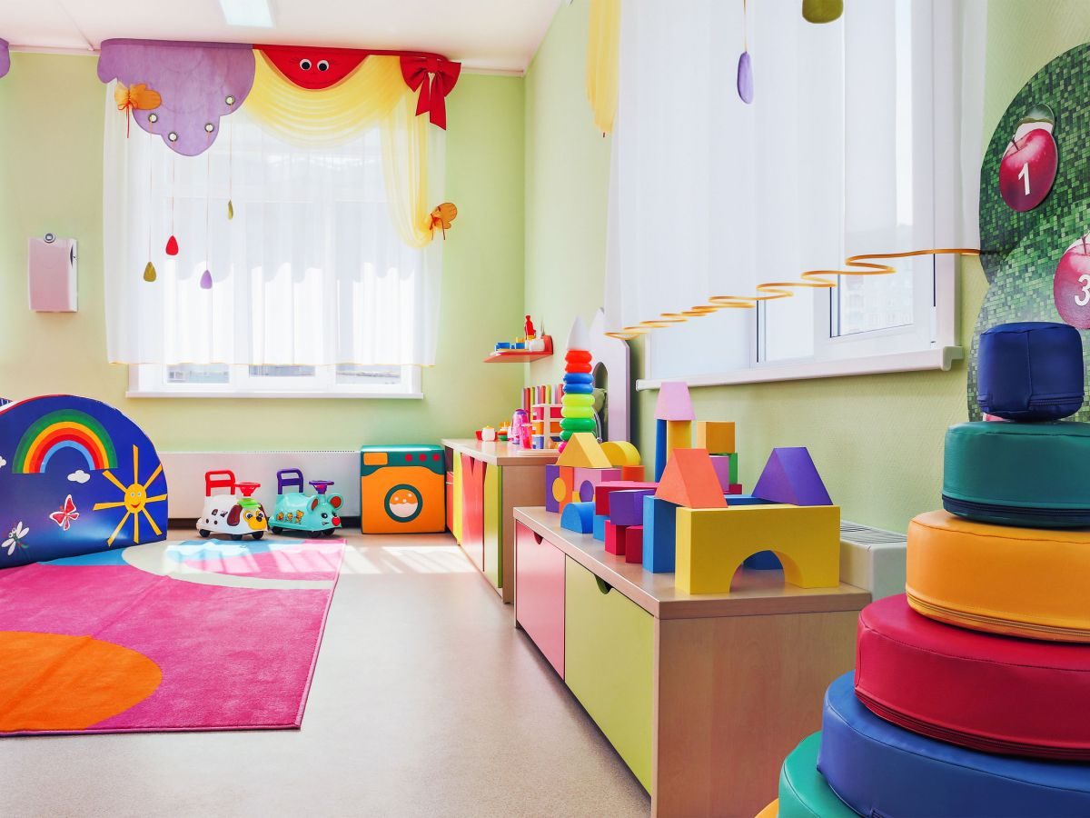 Photo of kindergarten playroom. Photo by Outi Tommila